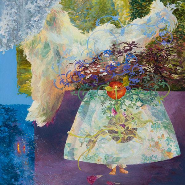 """Eve"" / Work / 2012 / Oil on Canvas / 42X36"