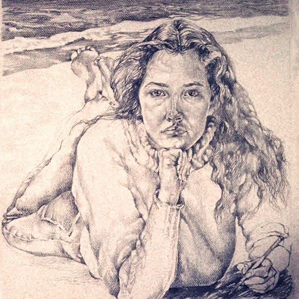 """Self Portrait"" / Work / Before 1980"